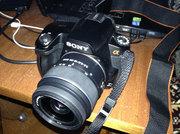 Продам зеркалку фотоаппарат Sony Alpha A-290 kit